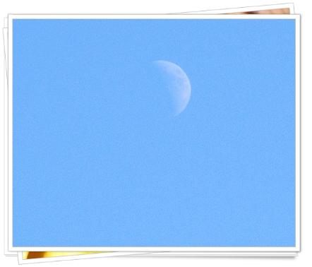 十二 三十一 大晦日の月