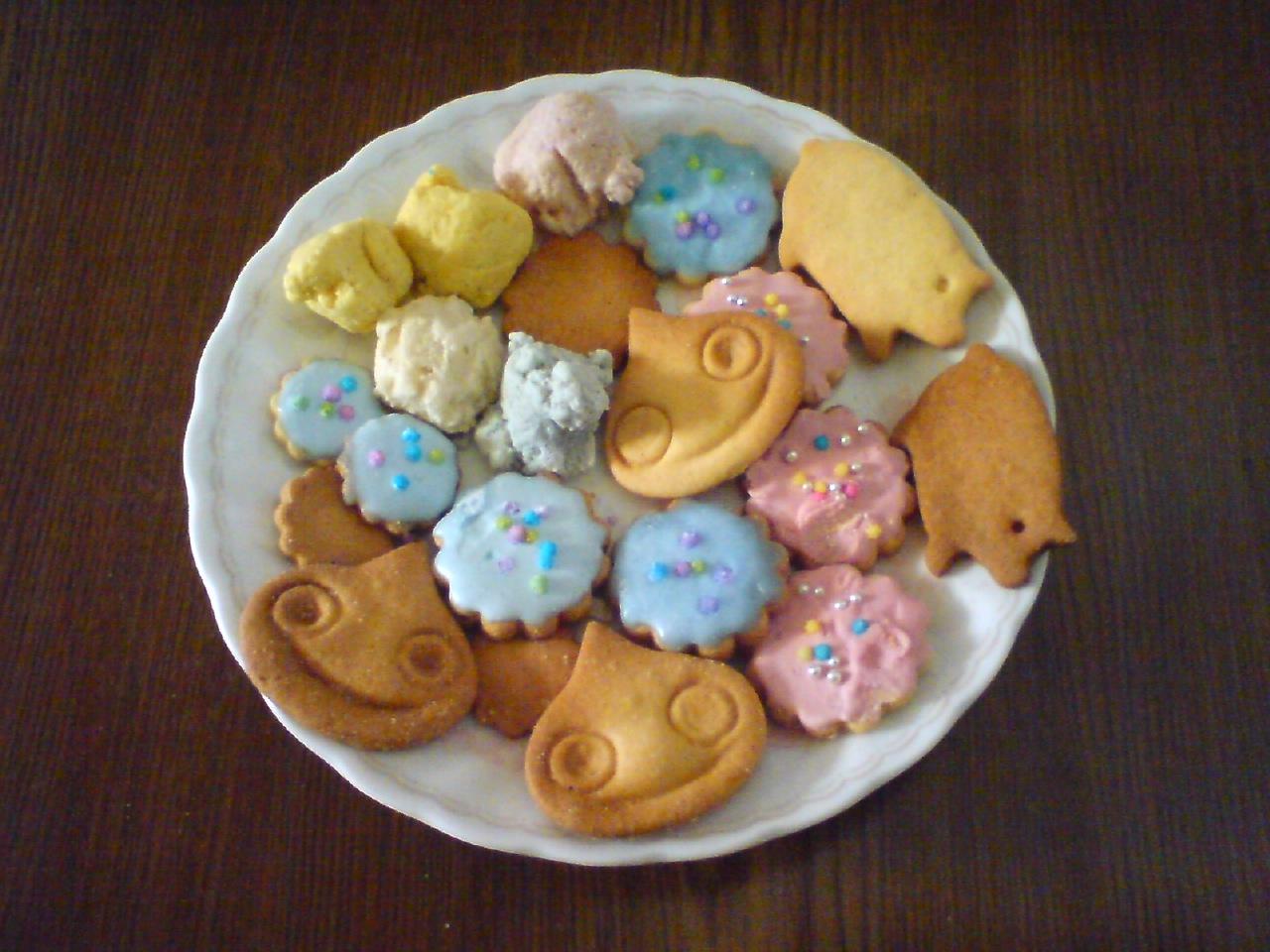 先輩のクッキー