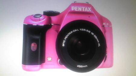 ピンクカメラ
