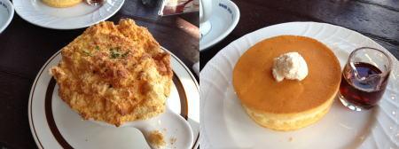 星野珈琲の食事