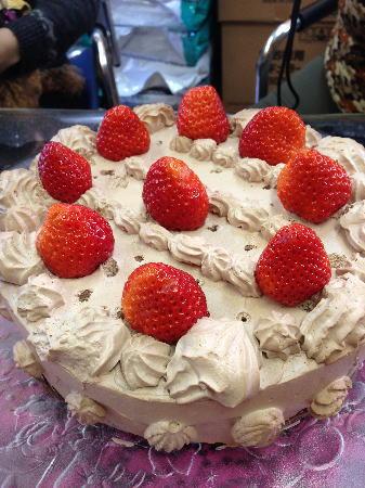ランディーママ作チョコレートケーキ