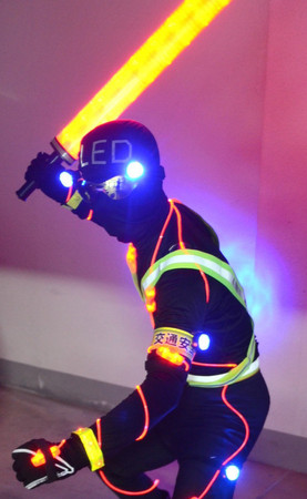 led-man