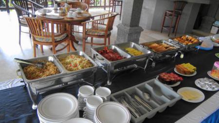 チェンダナリゾートの朝食