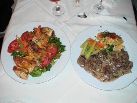 ペリボリの料理