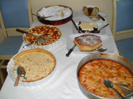 グロッタホテルの朝食