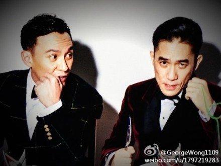 トニーさん&チャン・チェン@「GQ」撮影