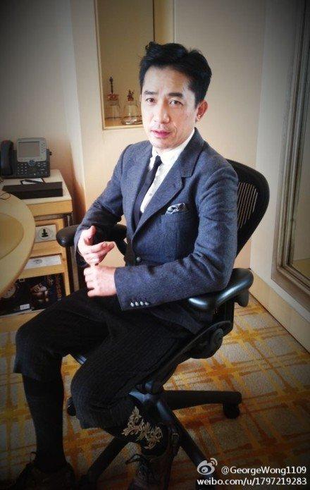 トニーさん@北京発布会2