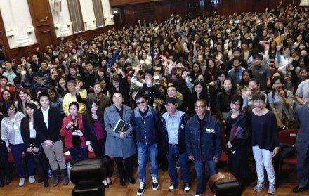 トニーさん@香港大学5