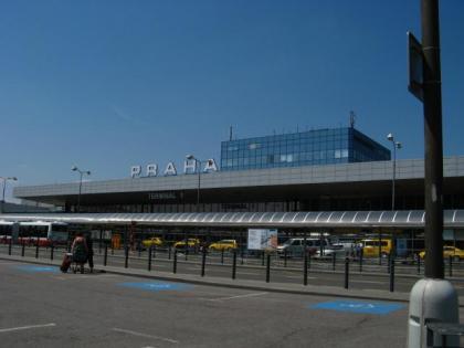 プラハの空港