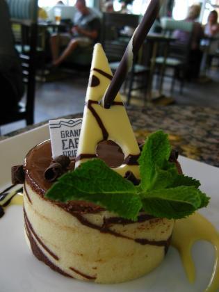 カフェオリエントのケーキ