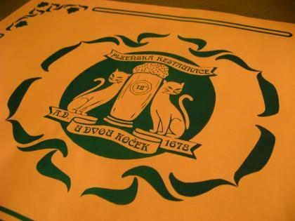 ウ・ドヴォ・コチェクのロゴ