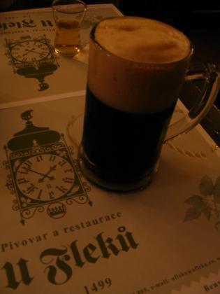 ウ・フレクーの黒ビール