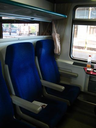 列車のコンパートメント