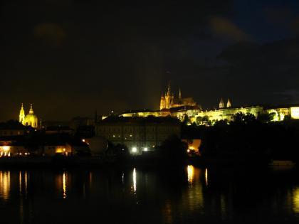 プラハ城夜景2