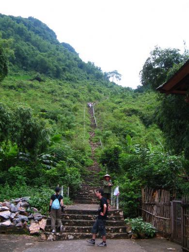 長い長い階段