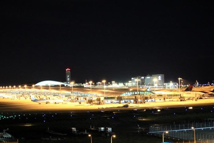 関空 夜景2