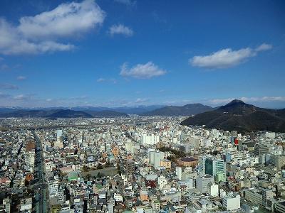 岐阜シティタワー43からの眺め
