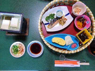 城崎温泉朝食 11/05/16
