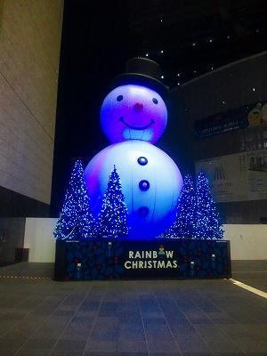 大阪駅雪だるま
