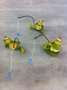 釣りカエル3パターン