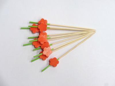 花かんざし串オレンジ