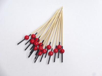 珠かんざし串赤