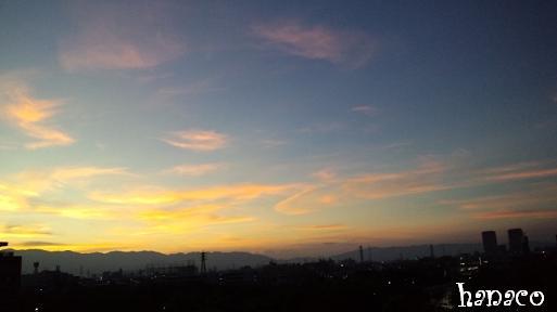 20110813夕焼け