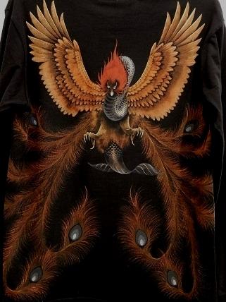 鳳凰 Tシャツ 2011117