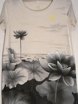蓮 チュニックTシャツ 2012412