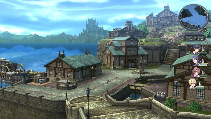 湖畔の町レグラム