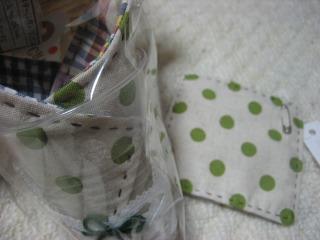 工房OH★ToRA製作日記-コサージュ手縫い