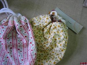 工房OH★ToRA製作日記-ミニ巾着
