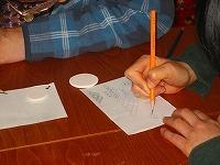 工房OH★ToRA製作日記-陶器絵付けの下書き