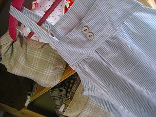 工房OH★ToRA製作日記-すっぽりエプロン