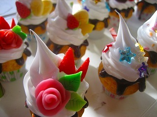工房OH★ToRA製作日記-マグネットカップケーキ