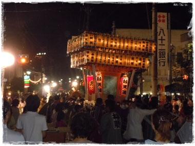 松川祇園御神輿