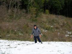 kokaji in the snow