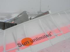Teglberg in snow