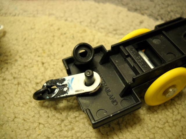 作ってみましたこれで連結器ぐらつきが固定できます
