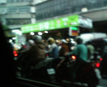 台湾 バイク集団