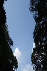 3.27 台湾 大空 満月圏
