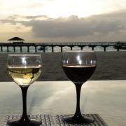 11.11 済 モルディブ ワイングラス