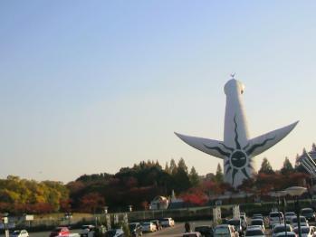 20121112万博公園太陽の塔