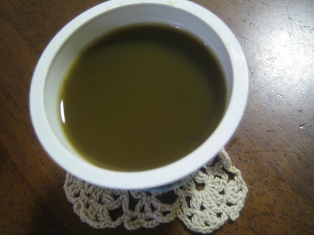 日本橋スイーツ 抹茶わらび餅と黒蜜ソース2
