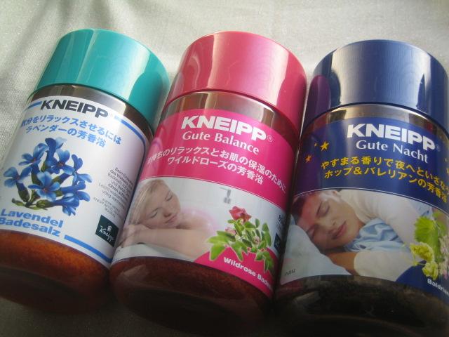 KNEIP クナイプ ドイツの入浴剤