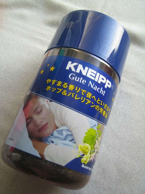 KNEIPP クナイプ ドイツの入浴剤 ホップ&バレリアン