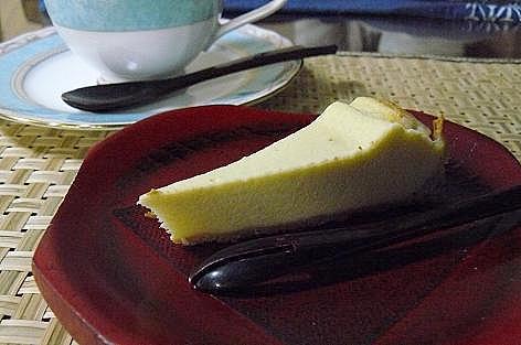 そば粉のチーズケーキ♪