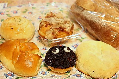 お土産のパン♪