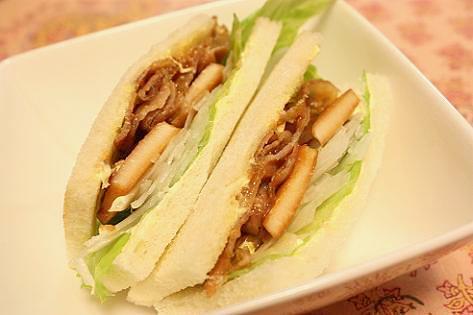 今年の筍サンドイッチ♪