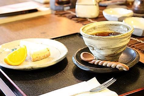 コーヒーとチーズケーキ♪